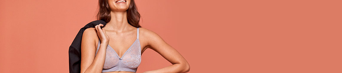 Non-wired bras from Triumph − just feel good!