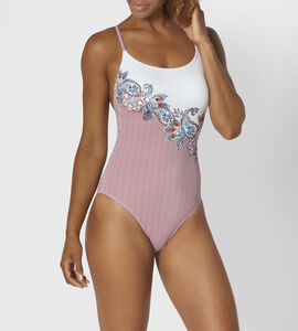 RIAD PAISLEY Swimsuit with padded cups