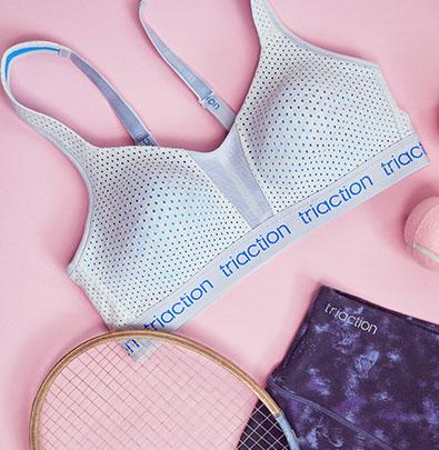 Non-wired sports bras